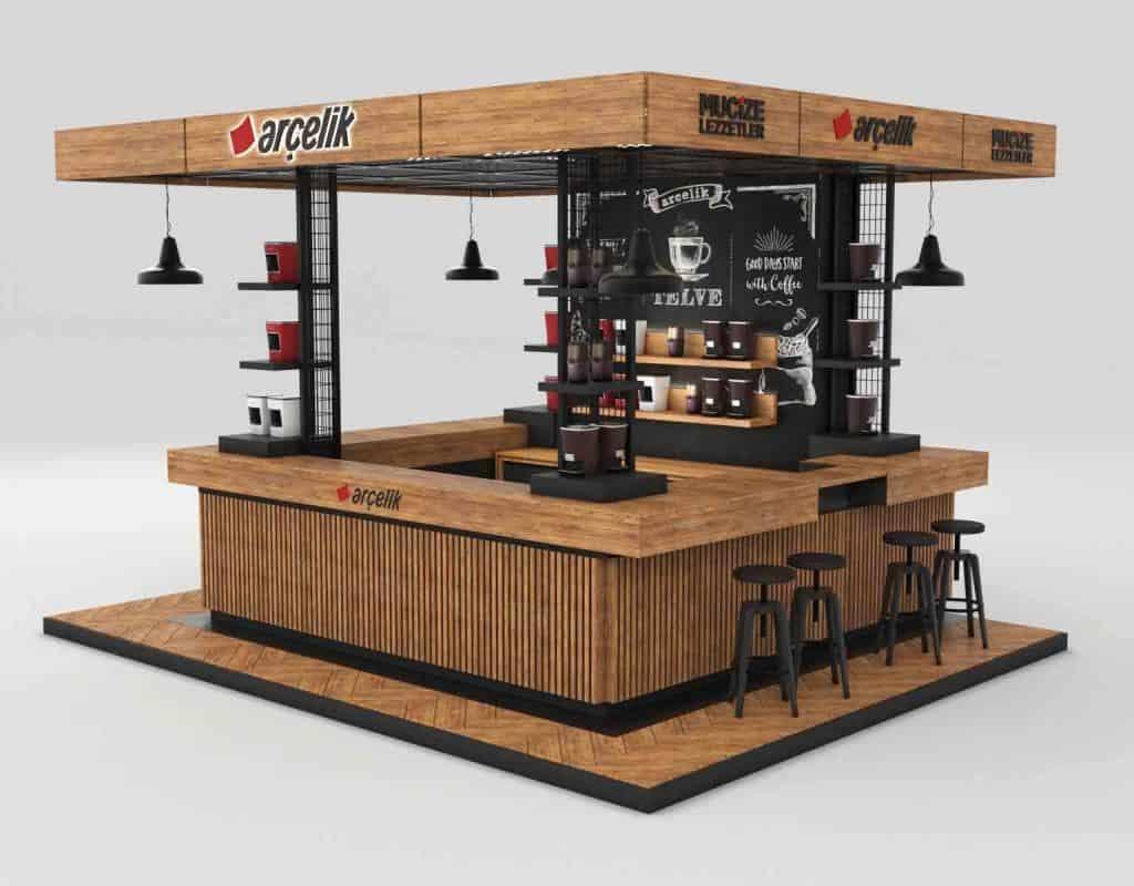 Construire votre Kiosque au maroc